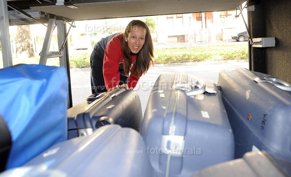 ODBOJKA, BEOGRAD, 21. Oct. 2010. - Odbojkasica Srbije Jasna Majstorovic. Odbojkasice  Srbije otisle su danas u Kinu gde ce se pripremati za XVI SP 2010 koje se odigrava u Japanu. Foto: Nenad Negovanovic