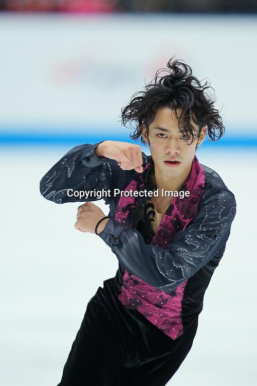 Daisuke Takahashi (JPN), OCTOBER 2, 2010 - Figure Skating : Daisuke Takahashi of Japan performs during Japan Open 2010 at Saitama Super Arena, Saitama, Japan. (Photo by Yusuke Nakanishi/AFLO SPORT) [1090]