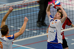 16-10-2013 VOLLEYBAL: PRINS VCV - RIVO RIJSSEN: VEENENDAAL <br /> Rivo Rijssen wint met 3-2 / Gertjan ter Harmsel<br /> ©2013-FotoHoogendoorn.nl