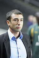 Milton Keynes - Tuesday, August 12th, 2008: MK Dons manager Roberto Di Matteo after the Carling League Cup First Round match at Stadium MK, Milton keynes. (Pic by Mark Chapman/Focus Images)