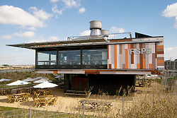 RSPB Environment and Education Centre at Rainham Marshes Havering London UK