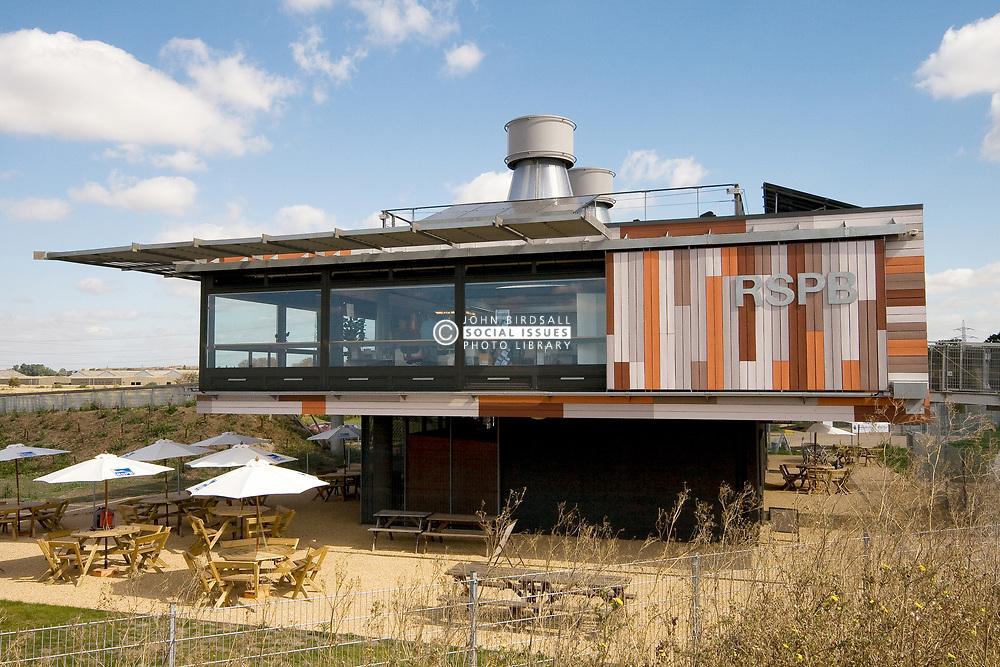 RSPB Environment and Education Centre at Rainham Marshes Havering London UK