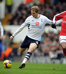 Roman Pavlyuchenko.Tottenham Hotspur 2008/09.Tottenham Hotspur V Arsenal (0-0) 08/02/09.The Premier League.