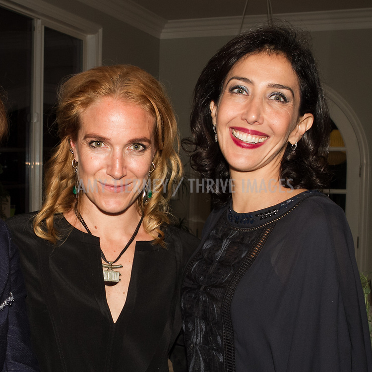 Arwa Damon, Senior International Correspondent, CNN and Founder, INARA, and host Nora Abusitta-Ouri