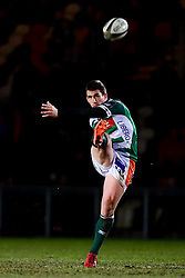 Guinness PRO14, Rodney Parade, Newport, UK 06/03/2020<br /> Dragons vs Benetton Rugby<br /> Ian Keatley of Benetton Rugby kicks off after the break<br /> Mandatory Credit ©INPHO/Ryan Hiscott