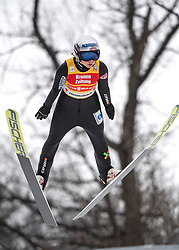 02.02.2019, Energie AG Skisprung Arena, Hinzenbach, AUT, FIS Weltcup Ski Sprung, Damen, Wertungsdurchgang, im Bild Maren Lundby (NOR) // Maren Lundby (NOR) during the woman's Competition Jump of FIS Ski Jumping World Cup at the Energie AG Skisprung Arena in Hinzenbach, Austria on 2019/02/02. EXPA Pictures © 2019, PhotoCredit: EXPA/ Reinhard Eisenbauer