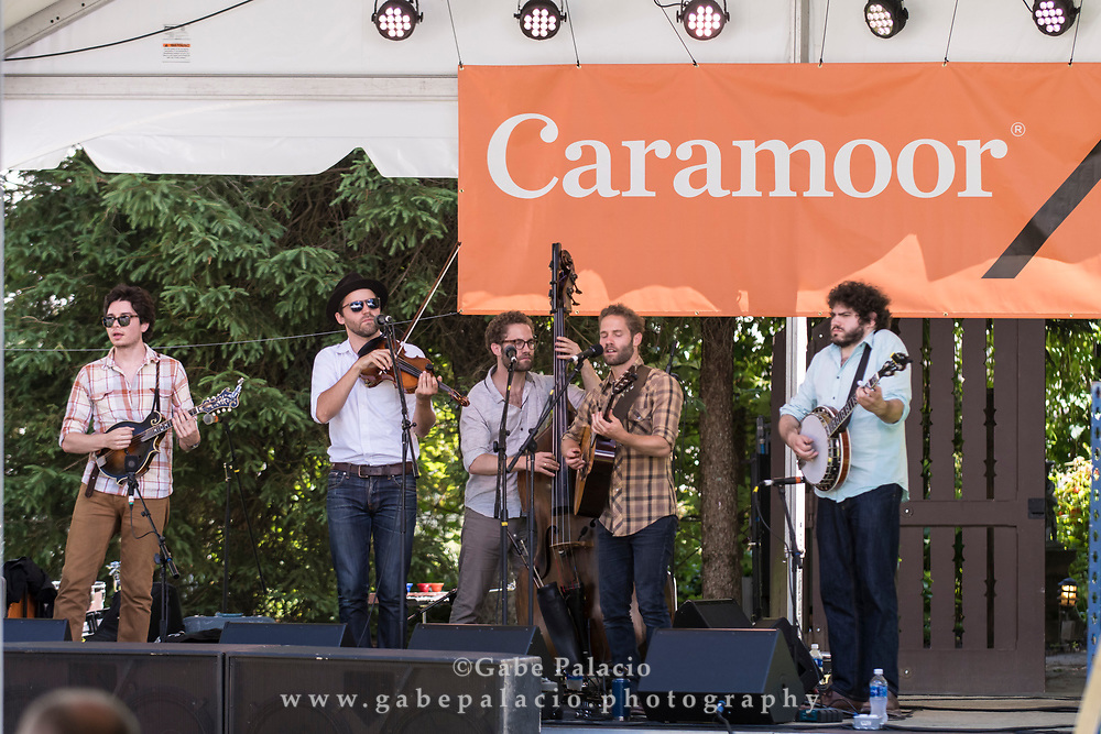 The Lonely Heartstring Band on the Friends Field stage at the American Roots Music Festival at Caramoor in Katonah New York on June 24, 2017. <br /> (photo by Gabe Palacio)