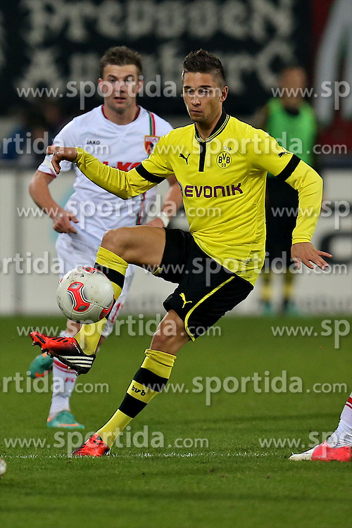 10.11.2012, SGL Arena, Augsburg, GER, 1. FBL, FC Augsburg vs Borussia Dortmund, 11. Runde, im Bild  Moritz Leitner (# 7, Dortmund) (Freisteller) during the German Bundesliga 11th round match between FC Augsburg and Borussia Dortmund at the SGL Arena, Augsburg, Germany on 2012/11/1