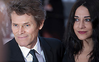 Willem Dafoe and Giada Colagrande at the gala screening for the film Graduation (Bacalaureat) at the 69th Cannes Film Festival, Thursday 19th May 2016, Cannes, France. Photography: Doreen Kennedy