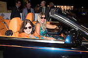SARAH MCWATTERS; IMOGEN BREWER, Preview for The London Motor Show, Battersea Evolution. London. 5 May 2016