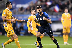 November 14, 2019, Saint Denis, FRANCE: 09 OLIVIER GIROUD (FRA) - JOIE (Credit Image: © Panoramic via ZUMA Press)