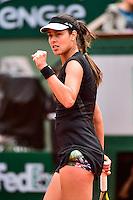 Joie Ana IVANOVIC  - 02.06.2015 - Jour 10 - Roland Garros 2015<br />Photo : David Winter / Icon Sport