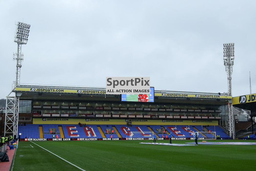 Selhurst Park before Crystal Palace vs Chelsea Sunday 3rd January 2016