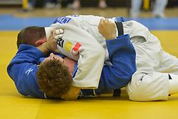 Cyril Jonard, -81kg, FRA, Sebastian Junk, GER, 2016 Visually Impaired Judo Grandprix, British Judo, Birmingham, England