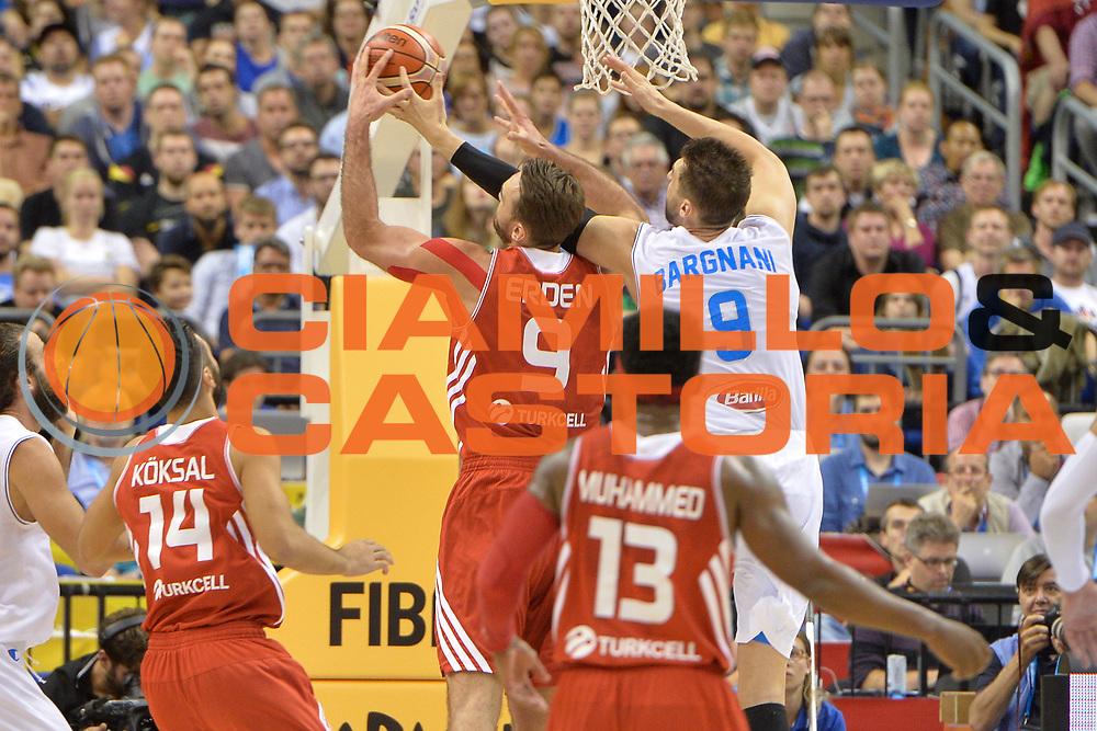 DESCRIZIONE : Berlino Berlin Eurobasket 2015 Group B Turkey Italy <br /> GIOCATORE : Andrea Bargnani<br /> CATEGORIA : Controcampo Stoppata<br /> SQUADRA : Italy<br /> EVENTO : Eurobasket 2015 Group B <br /> GARA : Turkey Italy<br /> DATA : 05/09/2015 <br /> SPORT : Pallacanestro <br /> AUTORE : Agenzia Ciamillo-Castoria/Mancini Ivan<br /> Galleria : Eurobasket 2015 <br /> Fotonotizia : Berlino Berlin Eurobasket 2015 Group B Turkey Italy