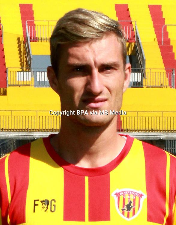 Italian League Serie B -2016-2017 / <br /> ( Benevento Calcio ) - <br /> Nikola Jakimovski