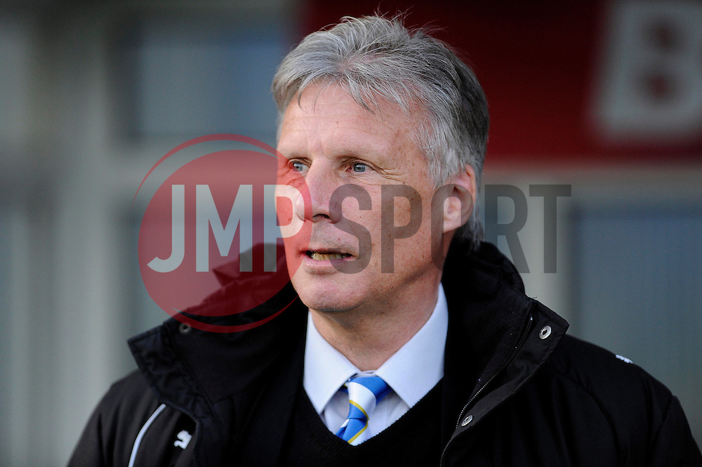 Bristol Rovers Director of Football, John Ward - Photo mandatory by-line: Dougie Allward/JMP - Mobile: 07966 386802 01/04/2014 - SPORT - FOOTBALL - Bury - Gigg Lane - Bury v Bristol Rovers - Sky Bet League Two