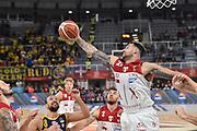 Burns Christian<br /> FIAT Torino - AX Armani Exchange Milano<br /> Zurich Connect Supercoppa 2018 - Finale -<br /> Legabasket Serie A 2018-2019<br /> Brescia 29/09/2018<br /> Foto M.Matta/Ciamillo & Castoria