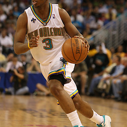 22 April 2008: in the second half of the Hornets game 2 first-round playoff game against the Dallas Mavericks a 127-103 victory for the Hornets at the New Orleans Arena in New Orleans, Louisiana. .