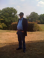 Author Tom Clancy at his estate on the Chesapeake Bay in Maryland, June 22, 2010. Clancy died on October 1, 2013.