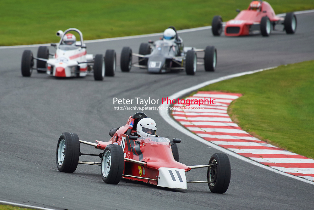 #11 Steve Nixon Van Diemen RF86 during Avon Tyres Formula Ford 1600 Northern Championship - Pre 90 Race 1 as part of the BRSCC Fun Cup Oulton Park 17th October 2015 at Oulton Park, Little Budworth, Cheshire, United Kingdom. October 17 2015. World Copyright Taylor/PSP. Copy of publication required for printed pictures.  Every used picture is fee-liable. http://archive.petertaylor-photographic.co.uk
