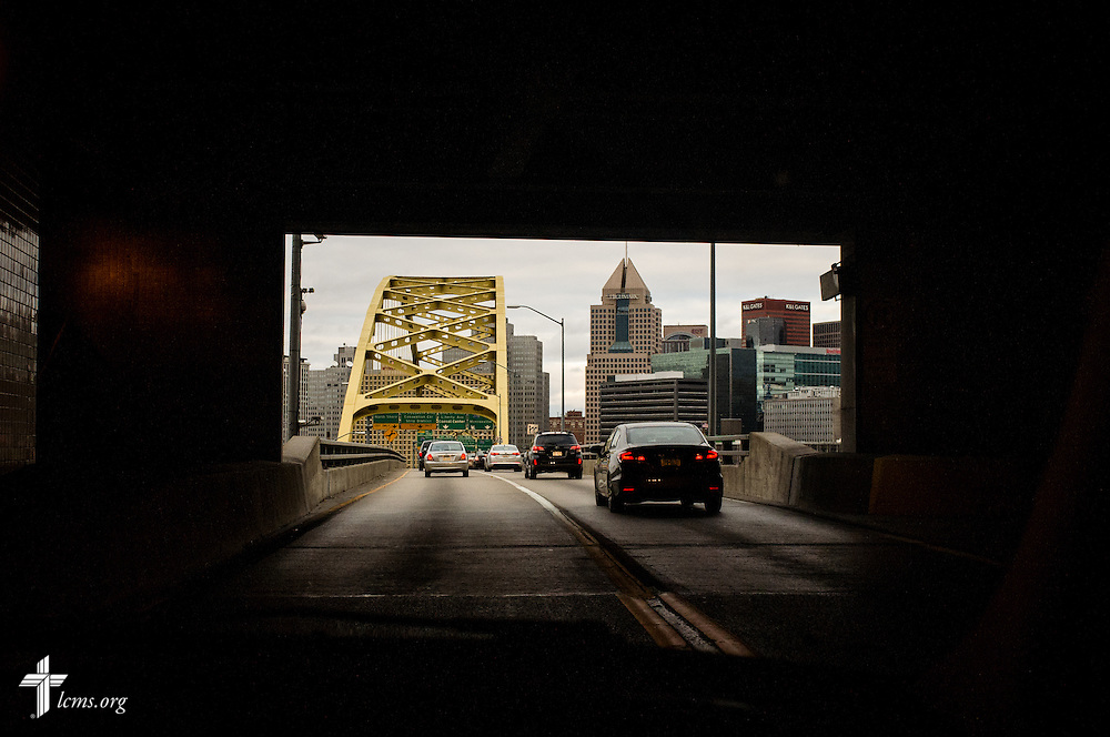 Pittsburgh seen from the the Fort Pitt tunnel on Saturday, Nov. 19, 2016. LCMS Communications/Erik M. Lunsford