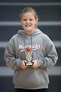 Eastern Mavericks u12 Girls Div 2 Best Team Player Isobel McArthur