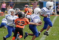 Middletown, NY - A Middletown player carries the ball against Marlboro in an Orange County Youth Football League game at Watts Park on Sept. 9, 2007.