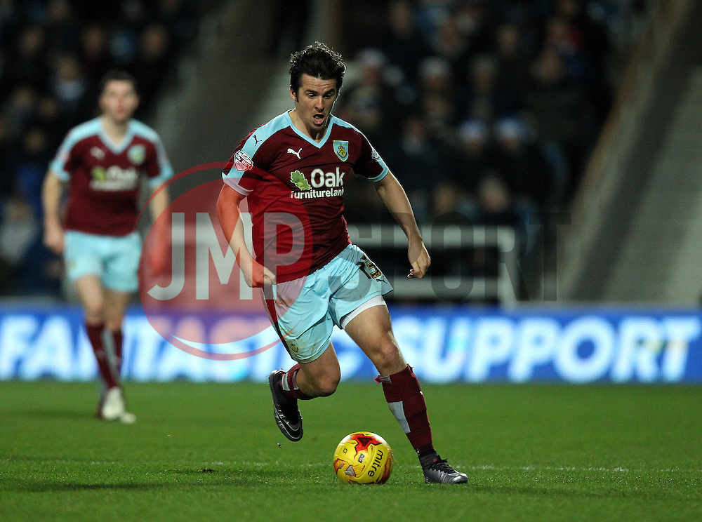Joey Barton of Burnley - Mandatory byline: Robbie Stephenson/JMP - 12/12/2015 - Football - Loftus Road - London, England - Queens Park Rangers v Burnley  - Sky Bet Championship