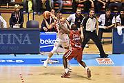 Descrizione: Beko Supercoppa 2015 Finale Grissin Bon Reggio Emilia - Olimpia EA7 Emporio Armani Milano<br /> GIOCATORE: Andrea De Nicolao<br /> CATEGORIA: Tecnica<br /> SQUADRA: Grissin Bon Reggio Emilia<br /> EVENTO: Beko Supercoppa 2015<br /> GARA: Grissin Bon Reggio Emilia - Olimpia EA7 Emporio Armani Milano<br /> DATA: 27/09/2015<br /> SPORT: Pallacanestro<br /> AUTORE: Agenzia Ciamillo-Castoria/GiulioCiamillo