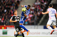 Kossi AGASSA - 09.05.2015 -  Evian Thonon / Reims  - 36eme journee de Ligue 1<br />