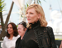Actress Cate Blanchett at the photocall for the film Carol at the 68th Cannes Film Festival, Sunday May 17th 2015, Cannes, France.