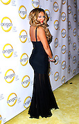Aubrey O'Day attends the Oxygen Upfronts at Gotham Hall in New York City on April 4, 2011.