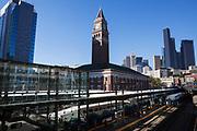 King Street Station i Seattle. <br /> <br /> Foto: Christina Sj&ouml;gren