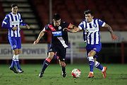 U21 Brighton and Hove Albion's Jesse Starkey during the Barclays U21 Premier League match between U21 Brighton and Hove Albion and U21 Newcastle United at the Checkatrade.com Stadium, Crawley, England on 23 March 2016.