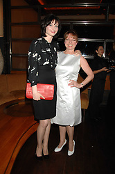 Left to right, singer SOPHIE ELLIS-BEXTOR and her mother JANET ELLIS at a party to celebrate the launch of Cavalli Selection - the first ever wine from Casa Cavalli, held at 17 Berkeley Street, London W1 on 29th May 2008.<br />