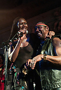 Grace Jones & Toots at the Island 50 concert –  London 2009