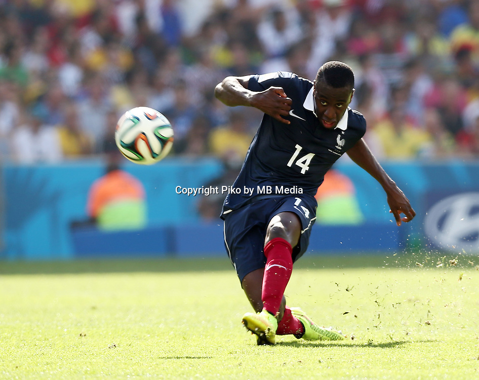 Fifa Soccer World Cup - Brazil 2014 - <br /> FRANCE (FRA) Vs. GERMANY (GER) - Quarter-finals - Estadio do MaracanaRio De Janeiro -- Brazil (BRA) - 04 July 2014 <br /> Here French player Blaise MATUIDI<br /> &copy; PikoPress