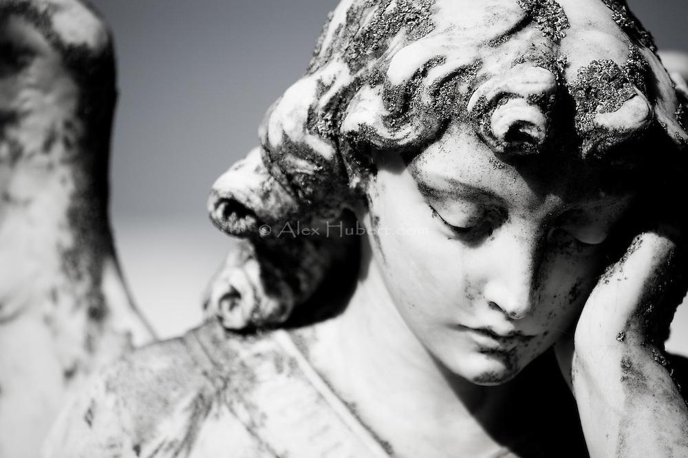 Guardian Angel. Queenstown cemetery, New Zealand.