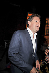 PIERS MORGAN at the Quintessentially and Perrier-Jouet Belle Epoque Summer Party in association with Jaguar held at The Orangery, Kensington Palace, London on 18th June 2009.