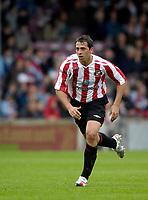 Photo: Jed Wee/Sportsbeat Images.<br /> Scunthorpe United v Sunderland. Pre Season Friendly. 21/07/2007.<br /> <br /> Sunderland's new signing Michael Chopra.