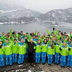 20130213: SLO, Olympic Movement - Presentation of Slovenia EYOF Brasov 2013 team