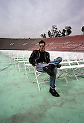 Alan Wilder - Depeche Mode performing live at Pasadena Rose Bowl, June 1988.