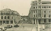 Archival Postcard. Ceylon.<br />The Grand Oriental Hotel & P&O Building, Colombo.