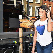 Celebrity Masterchef's Jenny Powell attend Celebs On The Ranch photocall at Jerusalem Bar & Kitchen, on 1st April 2019, London, UK.