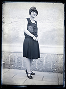 portrait of woman France circa 1920s