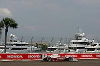 Scott Dixon at St. Petersburg, Honda Grand Prix of St. Petersburg, April 3, 2005