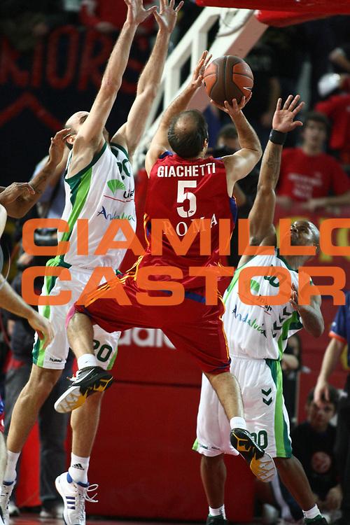 DESCRIZIONE : Roma Eurolega 2008-09 Lottomatica Virtus Roma Unicaja Malaga<br /> GIOCATORE : Jacopo Giachetti<br /> SQUADRA : Lottomatica Virtus Roma<br /> EVENTO : Eurolega 2008-2009<br /> GARA : Lottomatica Virtus Roma Unicaja Malaga<br /> DATA : 29/01/2009 <br /> CATEGORIA : <br /> SPORT : Pallacanestro <br /> AUTORE : Agenzia Ciamillo-Castoria/E.Castoria