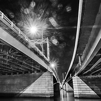 Under the 14th Street Bridge