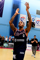 Gentry Thomas of Bristol Flyers - Photo mandatory by-line: Ryan Hiscott/JMP - 15/11/2019 - BASKETBALL - SGS Wise Arena - Bristol, England - Bristol Flyers v London City Royals - British Basketball League Cup